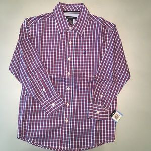 NWT: Nautica LS Preppy Dress Shirt